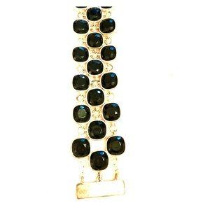 Black Sparkly Chunky Bracelet